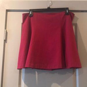 Gap A line mini skirt